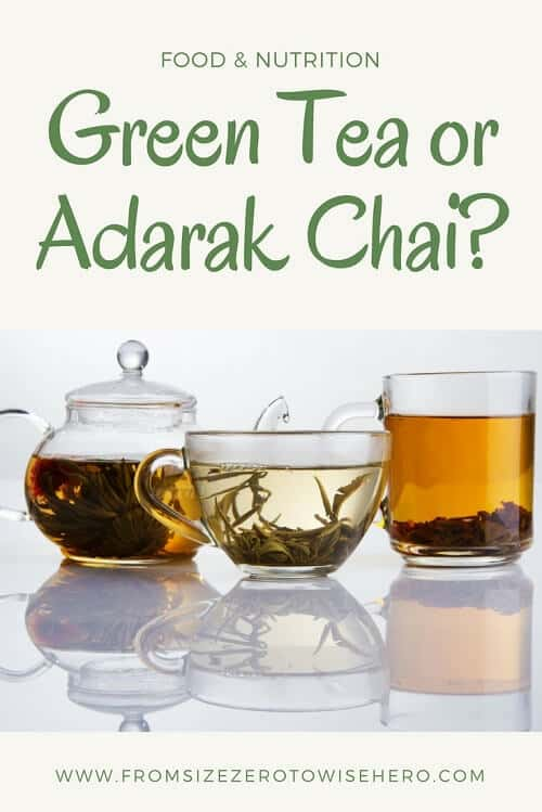 Green tea or Adarak Chai Pin it !!!