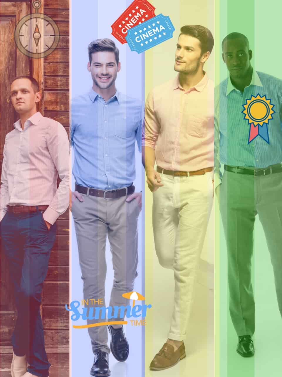 What is the Ideal Shirt, Belt, Trouser and Shoe Combination in Formal Wear?