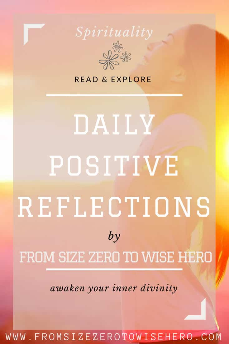 positive reflections- overcoming anger pin